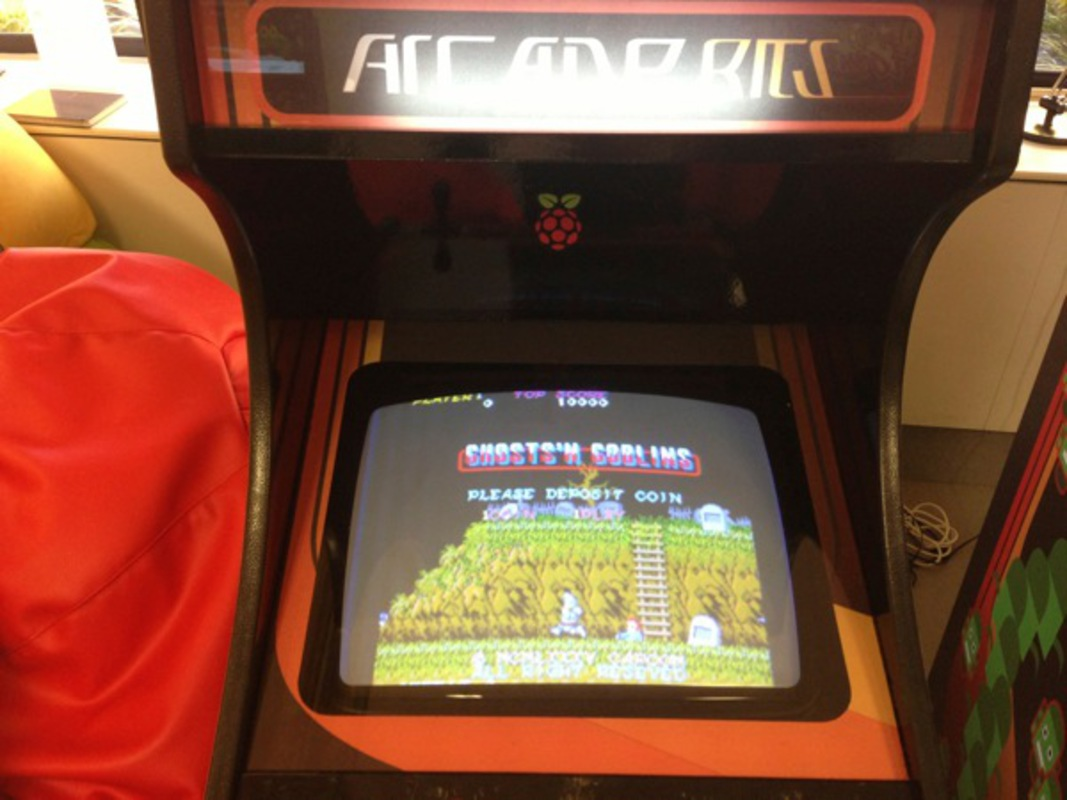 Raspberry Pi Game Cabinet Full Size Arcade Cabinet Projects Hacklab Community Board